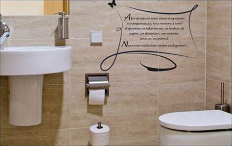 decorer ses toilettes de faon originale d 233 co toilettes avec stickers