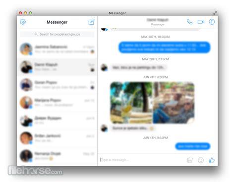messenger for mac desktop free 2019 version