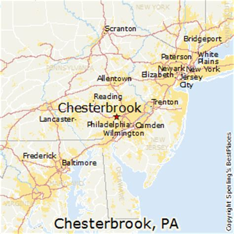places    chesterbrook pennsylvania