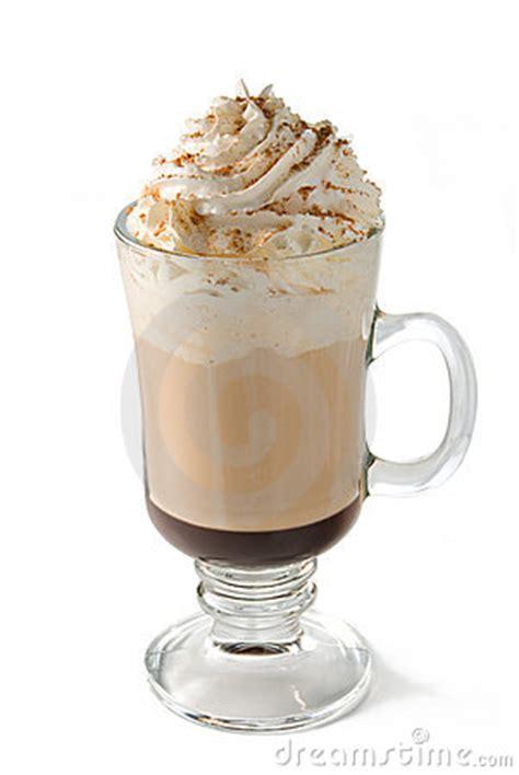 hot cafe mocha coffee stock photography image