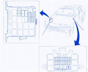 Isuzu Rodeo Ls 2000 Engine Fuse Box  Block Circuit Breaker Diagram  U00bb Carfusebox
