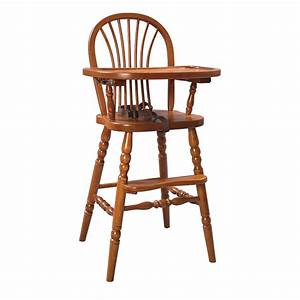 Baby Furniture - Amish Wood Highchair