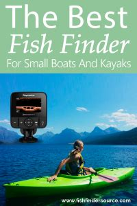 Best Marine Gps For Small Boat by 10 Best Fish Finders For Kayaks And Small Boats