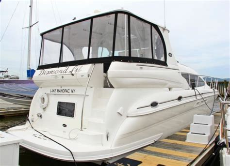 Boat Slip For Sale New York by 2002 Sea 480 Motor Yacht With Luxury Hudson River Boat