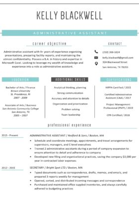 Free Resume Templates Word by Free Resume Templates For Word Resume Genius