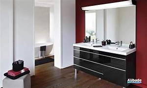 Meuble De Salle De Bain Double Vasque : meubles salle de bains design decotec rivoli espace aubade ~ Teatrodelosmanantiales.com Idées de Décoration
