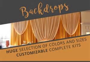 event decor direct buy wholesale wedding decorations linens pipe drape more