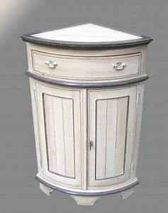 Commode D Angle : commode d 39 angle blanche ~ Teatrodelosmanantiales.com Idées de Décoration