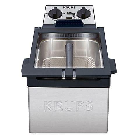 krups  liter high performance deep fryer bed bath