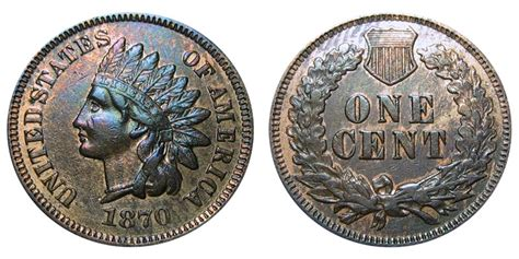 indian head cent bold  bronze composite penny