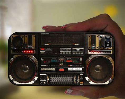 Boombox Ghetto Blaster Apple Iphone Case