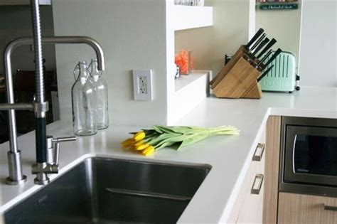 synthetic solid surface countertops kitchn
