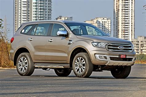 Ford Endeavour Price in India