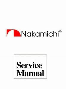 Nakamichi 580 Original Service Manual