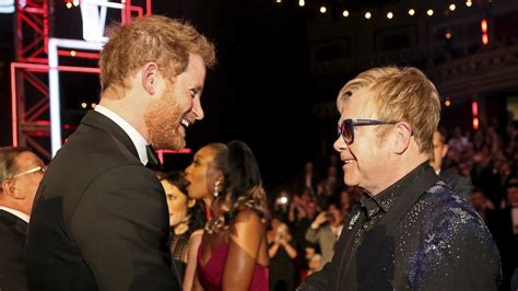 elton john defends prince harry  meghan markles