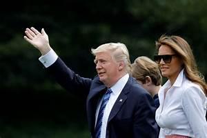 Le week-end de Donald Trump, entre meeting et famille