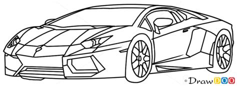 Kleurplaat Lamborghini Urus by How To Draw Lamborghini Diablo Supercars