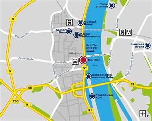 Wo Liegt Köln : maritim hotel k ln lage anfahrt hotel k ln ~ Buech-reservation.com Haus und Dekorationen