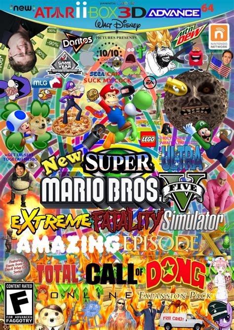 super dong bros expand dong   meme