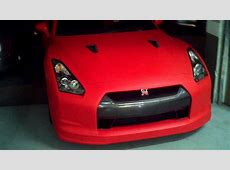 Matte Red GTR Full Wrap YouTube