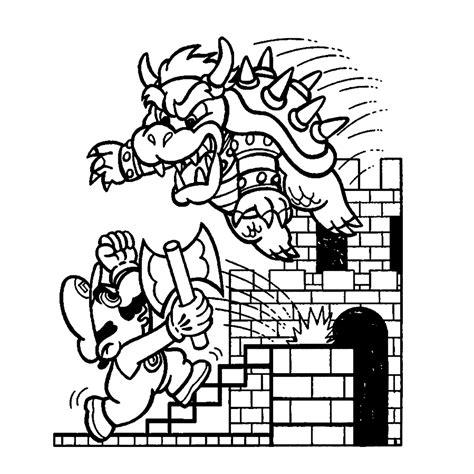 Bowser Kleurplaaten by Leuk Voor Mario Bowser