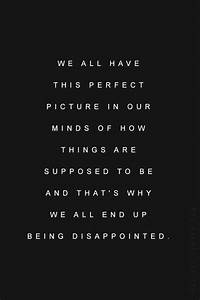 Quotes About Disappointment And Expectations. QuotesGram