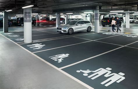 volvo uk redesigns family parking space icons torque
