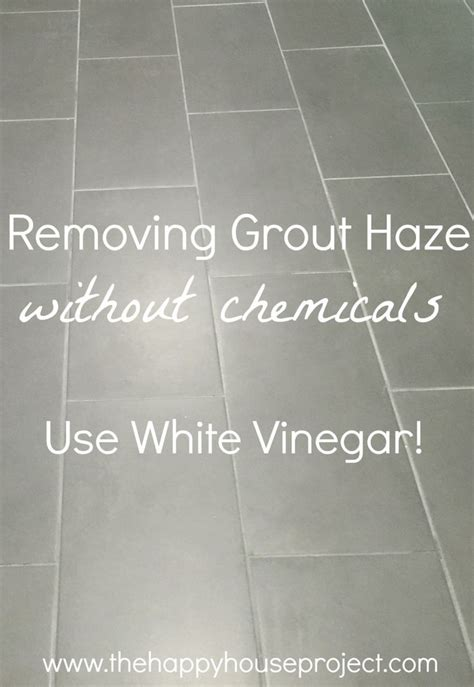 use 1 part warm water to 3 parts white vinegar to cut