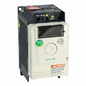 Schneider Atv12 Ip20 0 18kw 230v 1ph To 3ph Ac Inverter