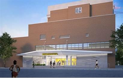 Athletic Evers College Medgar Cuny Headquarters Engineering