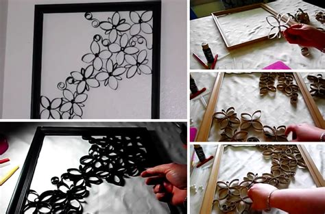 rangement bureau papier comment faire une magnifique décoration murale avec des