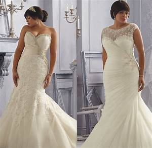 wedding dresses for second marriage over 40 plus size With wedding dresses over 40