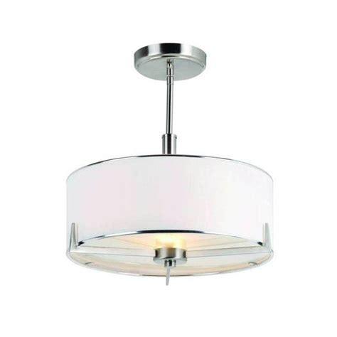 semi flush lighting bel air lighting cabernet collection 2 light brushed