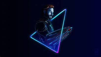 Neon Marvel Captain America Deadpool Avengers Infinity