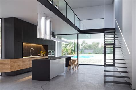outdoor mezzanine 3 modern villas that embrace indoor outdoor living