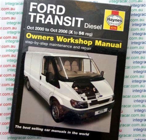 ford transit service manual