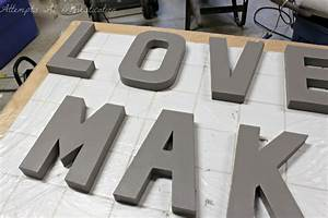 painting letters for 3d wall art attempts at domestication With 3d wall letters