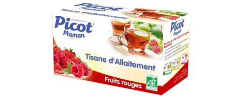 tisane d allaitement fruits rouges
