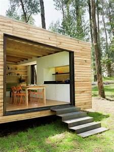 Tiny Houses De : 538 sq ft modern tiny cabin ~ Yasmunasinghe.com Haus und Dekorationen