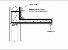 Civil At Work How to do chajja waterproofing?