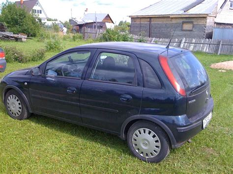 vauxhall corsa 2004 2004 opel corsa pictures 1 4l gasoline ff cvt for sale