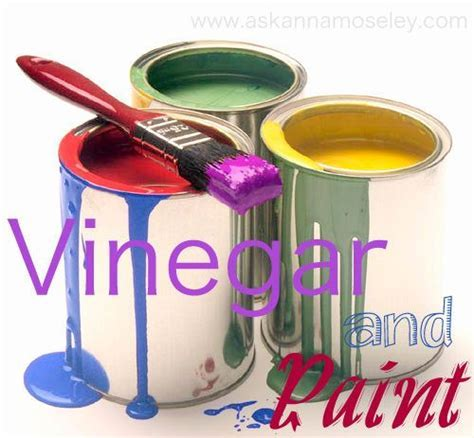 Vinegar Uses: The Best Way to Clean Paint Brushes & More