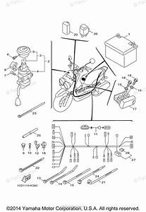 Yamaha Scooter 2012 Oem Parts Diagram For Electrical