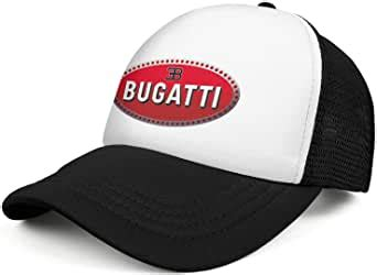 Bugatti brand was born in 1928 in germany to join the lineage of houses that propose fashion accessories of high quality and with meticulously chosen and tested materials. Amazon.com: Bugatti Logo Mens Baseball Cap Unisex All ...