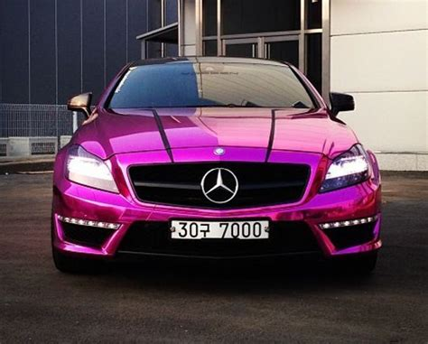 metallic pink mercedes pictures   images
