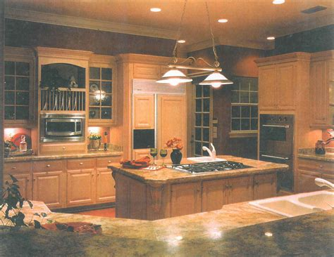 granite countertop showcase from central florida builder
