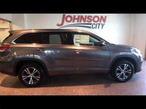 Johnson City Toyota by 2017 Toyota Highlander Johnson City Tn Kingsport Tn