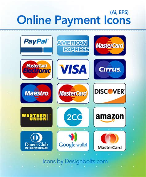 We did not find results for: Free credit card payment icons by Designbolts on DeviantArt