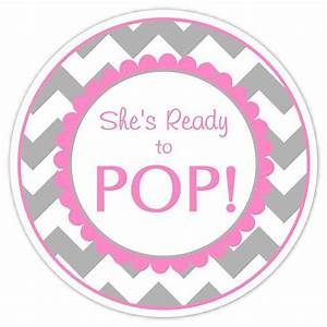 baby shower ready to pop labels gray chevron by delightdesignbiz 595 party ideas With ready to pop labels template free