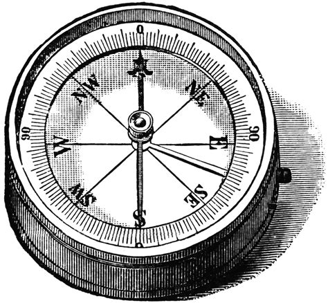 compass black and white compass clipart black and white clipground
